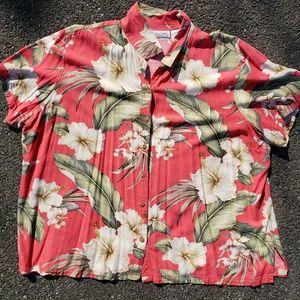 Vintage Victoria Jones 5x Hawaiian shirt